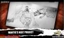 Mantic Sci Fi Spiel Konzeptzeichnung 1