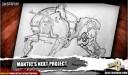 Mantic Sci Fi Spiel Konzeptzeichnung 2