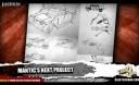 Mantic Sci Fi Spiel Konzeptzeichnung 3