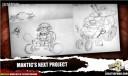 Mantic Sci Fi Spiel Konzeptzeichnung 4