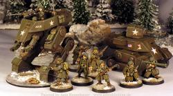 28mm Gear Krieg Preview