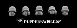 Puppetswar - Toxic Masks with Helmets