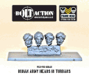 Bolt Action - Indian Army Heads in Turban