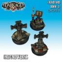 Dark Age Games - Groundwerks Graveyard 30mm