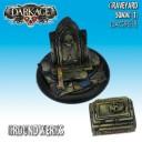 Dark Age Games - Groundwerks Graveyard 50mm