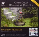 Vallejo - Game Color Miniatur & Paint Set Warrior Princess