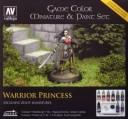 Vallejo - Game Color Miniatur & Paint Set Warrior Princess
