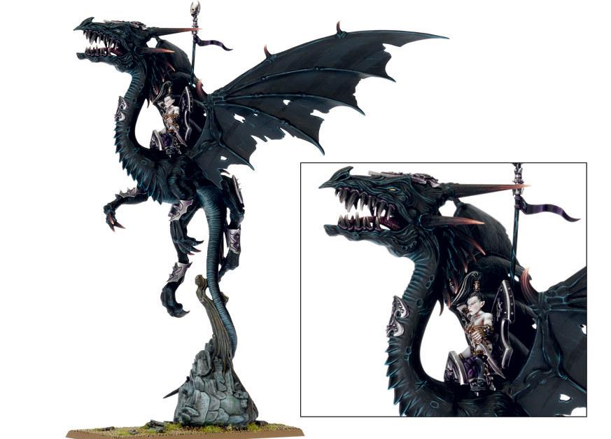 Painting Dark Elf Black Dragon