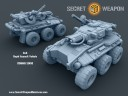Secret Weapon Miniatures - 6x6 Rapid Assault Vehicle