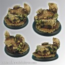 Scibor_Ancient Ruine Base 50mm rund