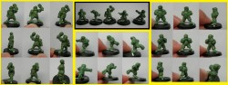 Willy Miniatures - Halfling Team