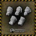 Puppetswar - Ice World Toxic Guardsman Helmets