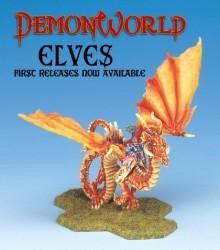 Demonworld Elfendrache