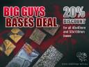 Tabletop Art - Big Guys Bases Deal