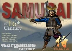 Wargames Factory Samurai Boyart