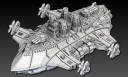Dystopian Wars Britannia Eagle Class Rotor 1