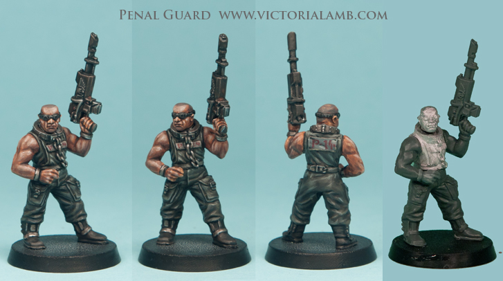 Penal Legion too, going back to the old RT IG days. has a range of IG suitable head sprues and complete...