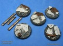 Dragonforge_40mm urban rubble concrete rubble base set 1 1
