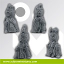 roman legionaries bodies set 2