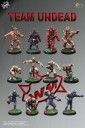 Willy Miniatures - Team Undead