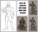 Crossover Miniatures - Create a Hero