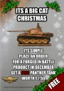 Forged in Battle - Its a Big Cat Christmas