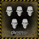 Cyber Undead Warriors Heads 1