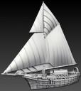 Spartan Games - Imperial Humans Elemental Ship