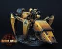 Blight Wheel Miniatures - Mantis tank