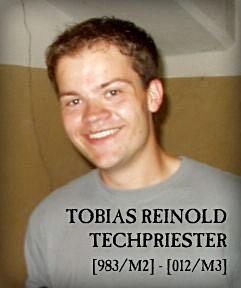 Tobias techpriester Reinhold