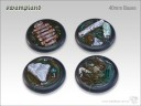 Tabletop Art - Swampland Bases 40mm