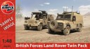 Airfix - British Forces Land Rover Twin Pack