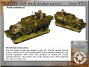 Forged in Battle - M4 Half-track mortar carrier