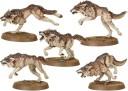 Warhammer 40.000 - Fenriswolfrudel der Space Wolves