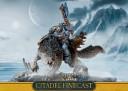 Warhammer 40.000 - Wolfslord auf Donnerwolf