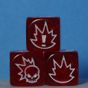 Gaspez-Arts - Fantasy Football - Dice, red