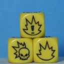 Gaspez-Arts - Fantasy Football - Dice, yellow