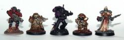 Steel Warriors Größenvergleich