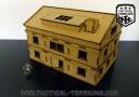Tactical Terrains 28mm Haus mit Zusatzetage