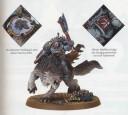 Warhammer 40.000 - Wolfslord auf Donnerwölfe