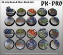 Pk-Pro - Alein Deck Base 25mm
