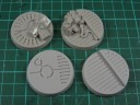 Tabletop Art - Crystal Tech 40mm Round Bases