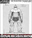 Urban War - Neo-Iskandrian Armour 3D