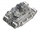 Dystopian Wars - Russian Coalition Kursk Class Land Dreadnought