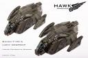 UCM Raven Type A Dropship