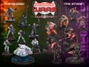 Sedition Wars Modelle Kickstarter