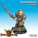Wrath of Kings - Union Worker A