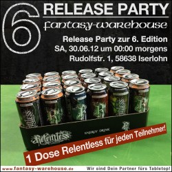Fantasy Warehouse - Release Party