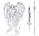 Kings of War Angel Paladin