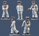 Pulp Figures - Royal Navy Deck Crew
